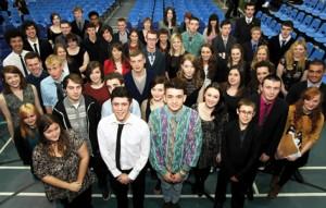 Award winners from Priestley College