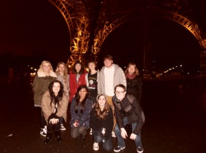 Language students soaked up the beauty and culture of Paris