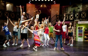 Many of hte performers in Priestley's recent production of In The Heights have secured places at top drama schools.