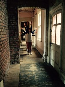 Priestley's dance students' performed piece at the Victoria Baths in Manchester as an alternative venue.