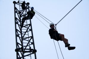 Charity abseil pic