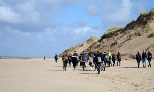 Biology field trip to Formby