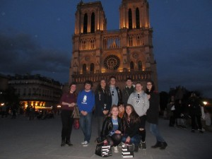 History and French trip to France and Belgium