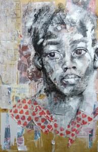 Alice Cornelia - 1969 (Mixed media on board) web