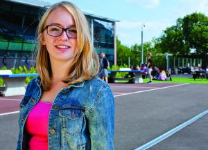 Holly Roach is College Council president at Priestley College and was recently named one of the UK's outstanding students in state education.