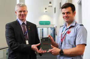 RAF platinum award