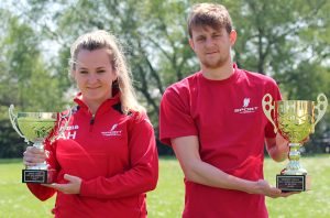 Aaron Hill and Abbey Hickey were chosen as Priestley's sports personalities of the year.