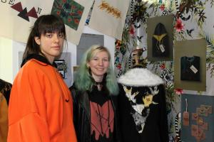 Clara and Charlotte impressed with their designs for people who want to go against the grain.