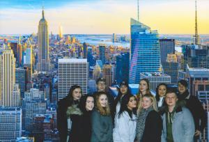 English and Sociology New York trip 2018