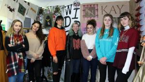 BTEC Fashion and Textiles students presented their brands to fashion experts from UCLan.
